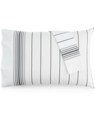 Tommy Hilfiger Buckaroo Stripe Pair of Standard Pillowcases