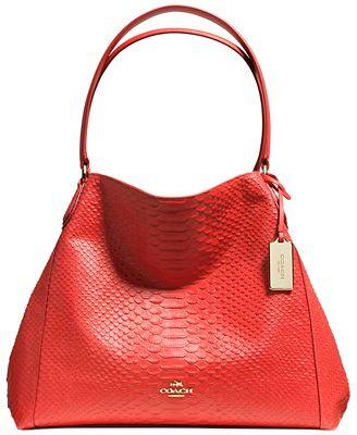 Xoxo New Money Python Embossed Shoulder Bag 5