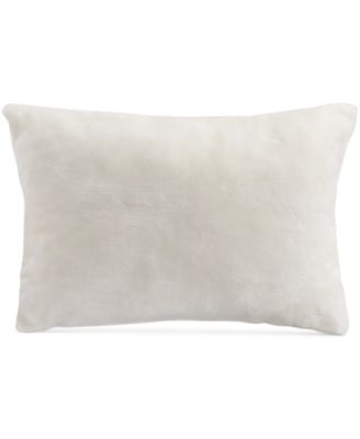"INC International Concepts Delphine Faux Fur 14"" x 20"" Decorative Pillow"