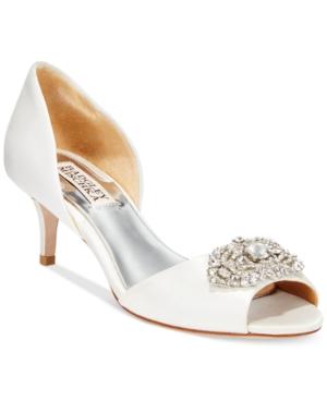 Badgley Mischka Petrina Two-Piece Pumps Women's Shoes