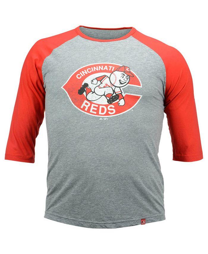 Majestic - Men's Johnny Bench Cincinnati Reds Cooperstown Player T-Shirt