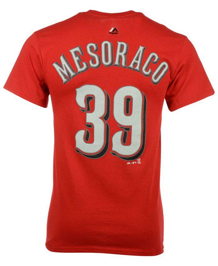 Majestic - Men's Devin Mesoraco Cincinnati Reds Player T-Shirt