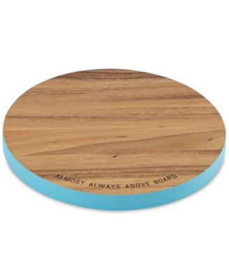 kate spade new york all in good taste Acacia Wood Cutting Board