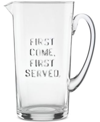 kate spade new york all in good taste Words Pitcher