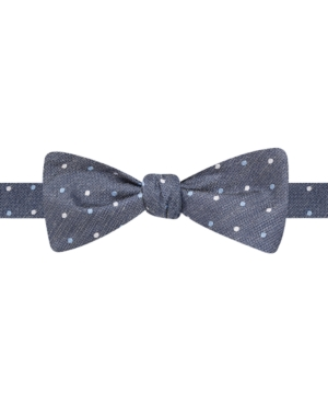 Ryan Seacrest Distinction Pasadena Dot Self-Tie Bow Tie $19.99 AT vintagedancer.com