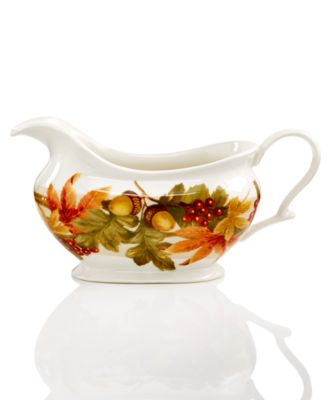 222 Fifth Autumn Celebration Collection Gravy Boat