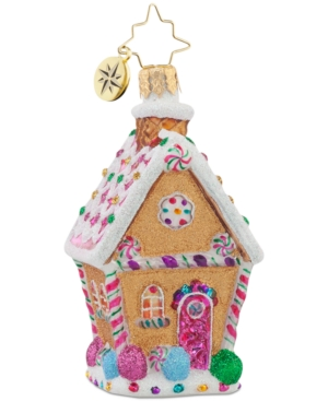 Christopher Radko Sugar Shack Gem Ornament