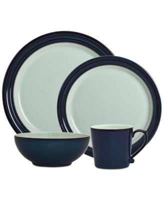 Denby Dinnerware Peveril Collection Stoneware 4-Pc. Place Setting