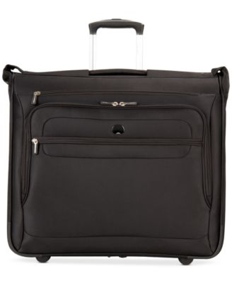 Delsey Helium Fusion Rolling Garment Bag, Only at Macy's