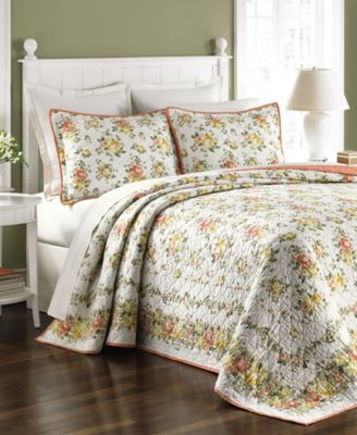 Martha Stewart Collection Rose Cottage King Bedspread, Only at Macy's