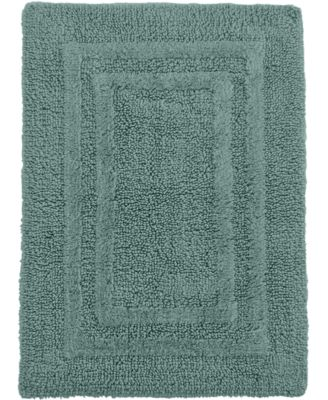 "CLOSEOUT! Hotel Collection Cotton Reversible 21"" x 33"" Bath Rug"