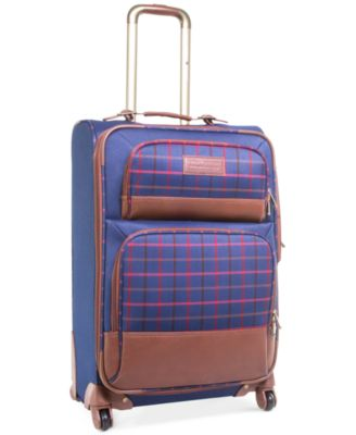 "CLOSEOUT! 60% Off Tommy Hilfiger Perfect Plaid 24"" Spinner Suitcase, Only at Macy's"