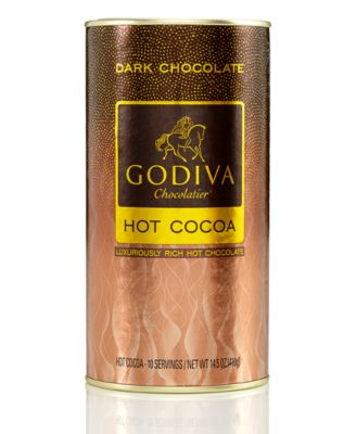 Godiva Dark Chocolate Cocoa Canister