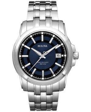 bulova s precisionist stainless steel bracelet