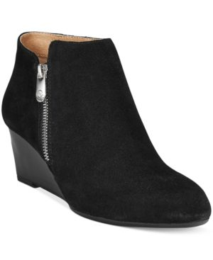 Adrienne Vittadini Meriel Wedge Booties, Only at Macy's Women's Shoes