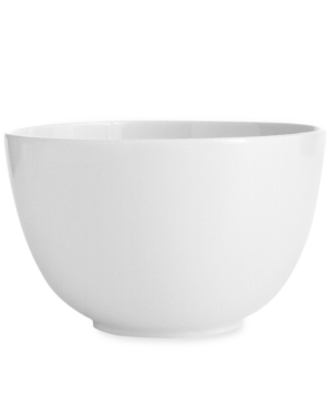 Martha Stewart Collection Dinnerware, Whiteware Cereal Bowl