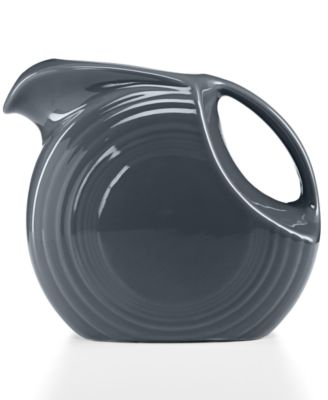 Fiesta Slate 67.75-oz. Large Disk Pitcher