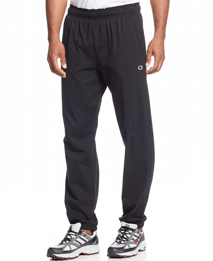 Champion - Jersey Pants With Banded Bottom