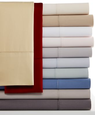Hotel Collection 600 Thread Count Queen Flat Sheet - European Collection