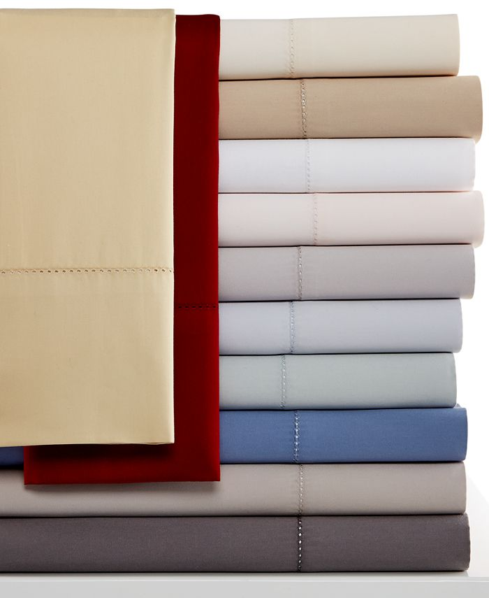Hotel Collection - 600 Thread Count Queen Flat Sheet