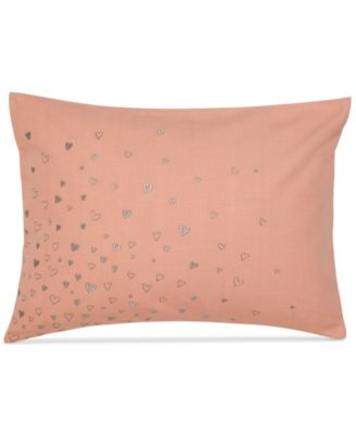 """Under the Canopy Lover 12"""" x 16"""" Hearts Decorative Pillow"""