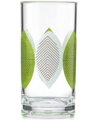 Dansk The Burbs Collection Acrylic Sunflower High-Ball Glass