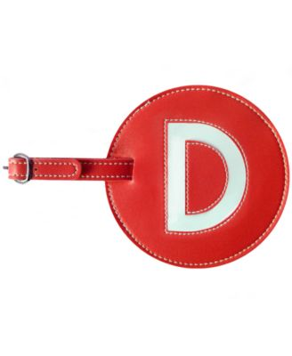 Initial Luggage Tag D