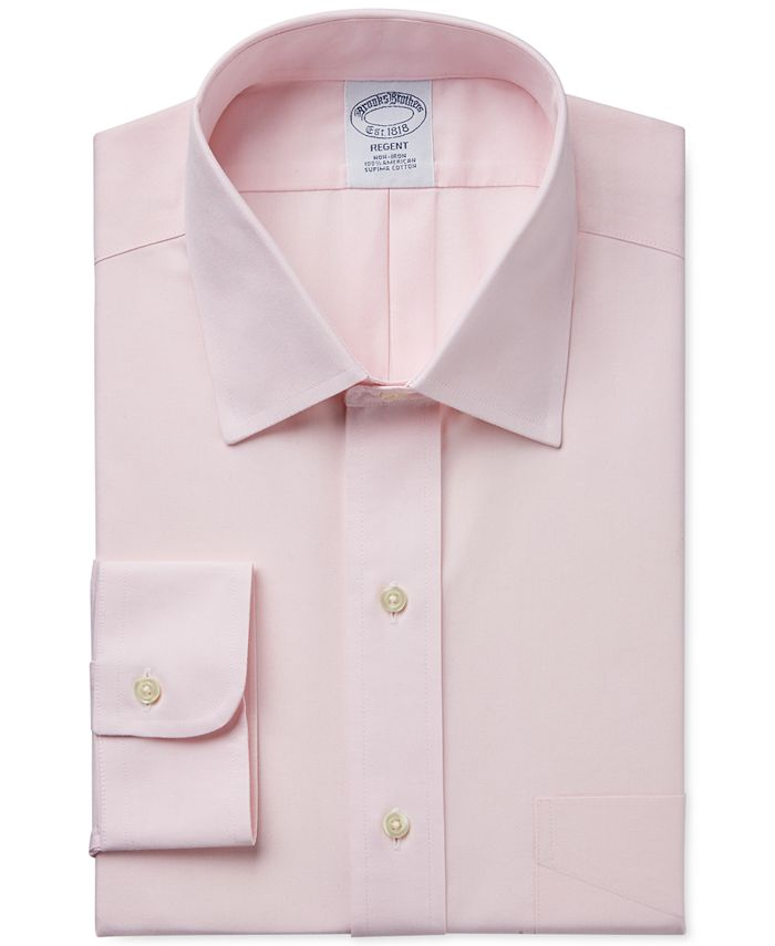 Brooks Brothers - Classic Fit  Non-Iron Pinpoint Solid Dress Shirt Product