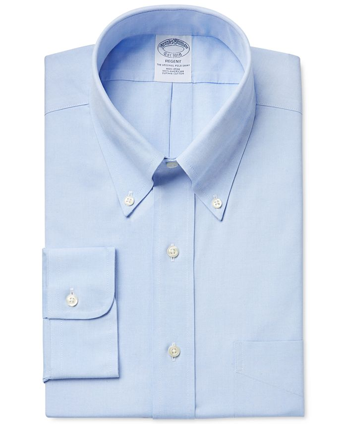 Brooks Brothers - Classic Fit Non-Iron Pinpoint Solid Dress Shirt