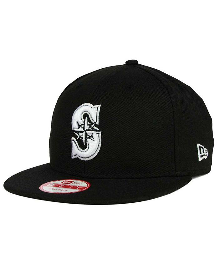 New Era - Seattle Mariners B-Dub 9FIFTY Snapback Cap