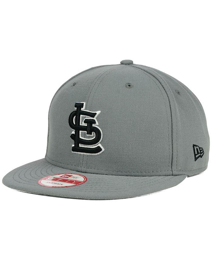 New Era - St. Louis Cardinals Gray Black White 9FIFTY Snapback Cap