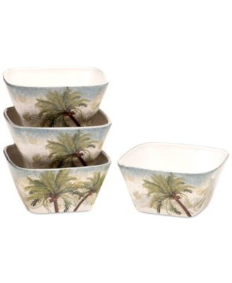 Certified International Key West Set of 4 Bowls