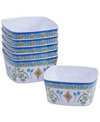 Certified International Melamine Tuscany Bowl