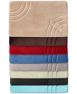 "Sunham Inspire Memory Foam 17"" x 24"" Bath Rug, Only at Macy's"