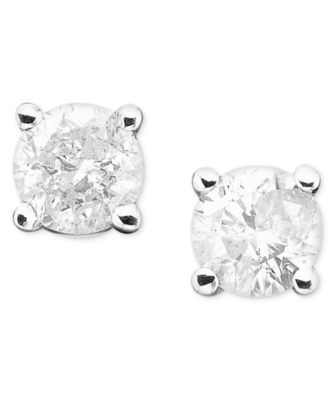14k White Gold Diamond Stud Earrings (1/4 ct. t.w.)