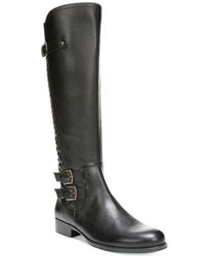 Naturalizer Jamon Wide Calf Riding Boots Women's Shoes