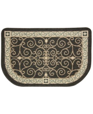"Bacova Kitchen, Reliance Eastly Midnight 22""x35"" Rug"