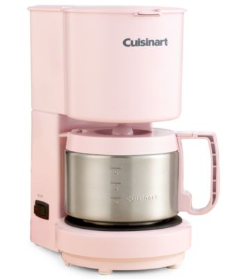 Cuisinart DCC-450 Coffee Maker 4-Cup Pink Collection