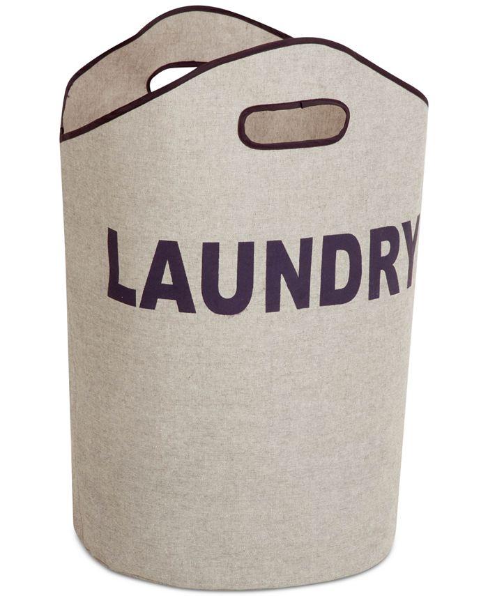 Honey Can Do - Gray Laundry Tote