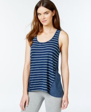 Lucky Brand Scoop-Neck Striped Tank Top