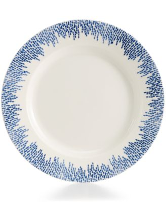 Martha Stewart Collection Porcelain Stockholm Dinner Plate, Only at Macy's