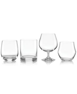 Lenox Tuscany Classics Assorted Whiskey Glasses, Set of 4