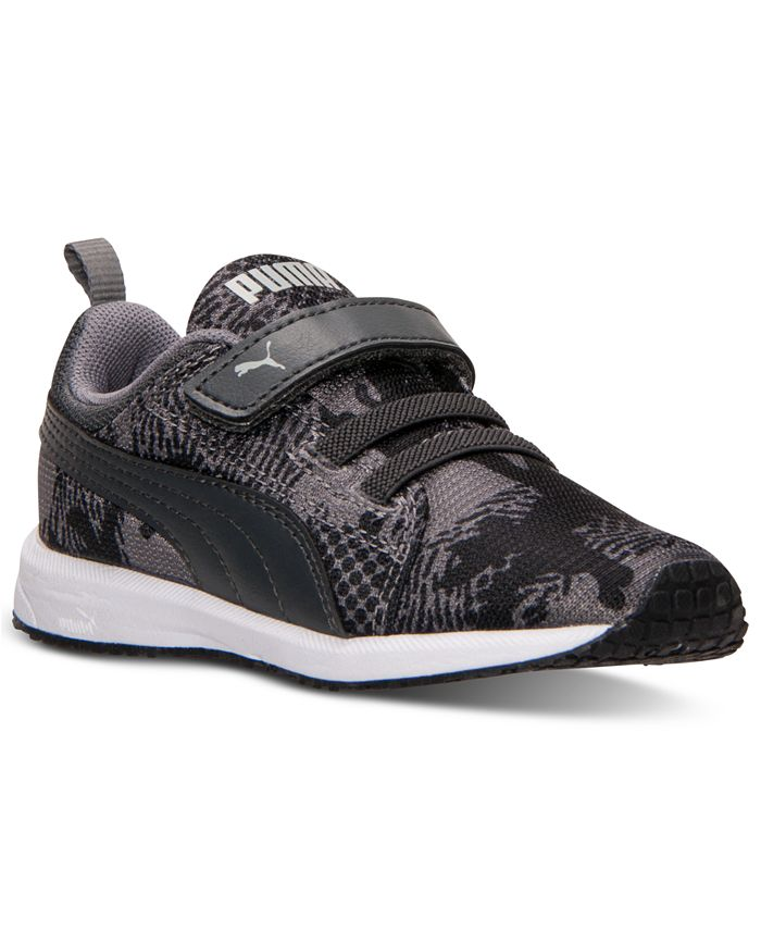 Puma - Toddler Boys' Carson Runner AC Camo Casual Sneakers from Finish Line