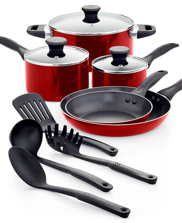 Tools of the Trade - Everyday Nonstick Cookware, 12 Piece Set
