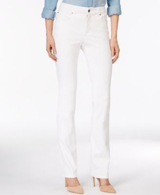 Image of Charter Club Lexington Colored Wash Straight-Leg Jeans, Only at Macy's