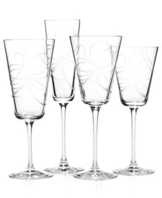 kate spade new york Belle Boulevard Iced Beverage Glasses