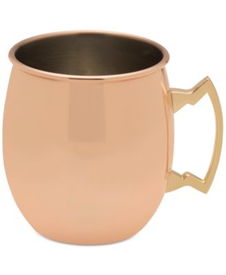 Towle Modernist Copper Plated Moscow Mule Plain Mug