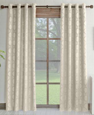 "Miller Curtains Estate 52"" x 84"" Insulating Grommet Curtain Panel"