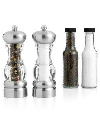"Martha Stewart Collection 7"" Del Norte Salt and Pepper Mill"