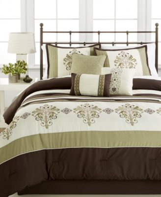 Marin 7-Pc. Queen Comforter Set